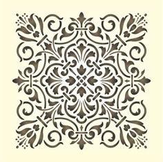 Maler Wandschablone Schablone Historisches Ornament 13