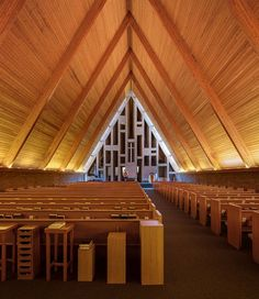First Baptist Church .Architect: Harry Weese (1965)Columbus, Indiana. USA