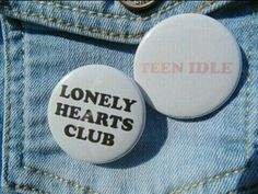 Items similar to CHOOSE ONE Marina and the Diamonds Electra Heart - Teen Idle or Lonely Hearts Club inch Pinback Button on Etsy