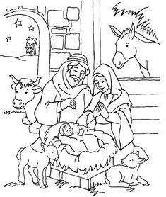 Nativity Coloring Pages for Kids nice manger scene. nativity coloring pagePrintable Nativity Coloring Pages for Kids nice manger scene. nativity coloring page Nativity Coloring Pages, Jesus Coloring Pages, Coloring Book Pages, Printable Coloring Pages, Coloring Pages For Kids, School Coloring Pages, Colouring Sheets, Kids Coloring, Christmas Coloring Sheets