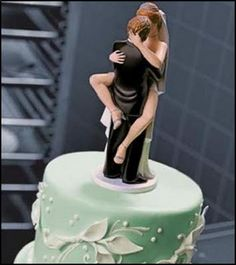 I'd put this on a grooms cake.. my man knows why =]