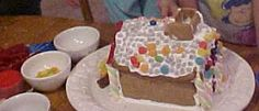 Rosy Creations: Gingerbread House Tutorial