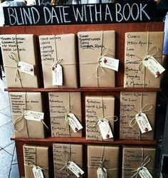 More blind dates with books! Book Cafe, Book Club Books, Book Nerd, Book Lists, The Book, Book Store Cafe, Books And Tea, I Love Books, Books To Read