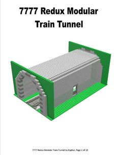 As I've been designing my Massive Train Layout a tunnel is on my list of Must Haves so I've been playing with a design. After several refinements I think I'...