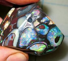 Koroit opal from Australia