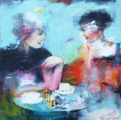 Ingeborg Herckenrath - Friends #art