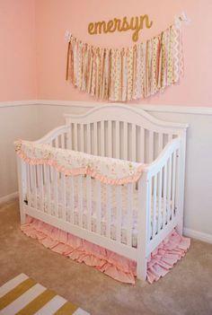Blog - New Arrivals, Inc. Pink & Gold Nursery