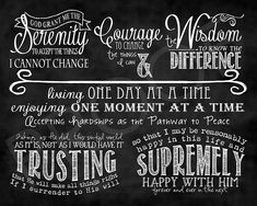 9 Best Images of The Serenity Prayer Printable Version - Serenity Prayer Printable Version, Full Serenity Prayer Printable Version and Serenity Prayer Printable Scripture Art, Bible Verses, Full Serenity Prayer, Cool Words, Wise Words, Reinhold Niebuhr, Celebrate Recovery, A Blessing, Christian Quotes