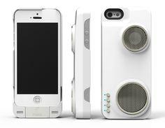 De Peri DUO Case op Kickstarter verandert je iPhone in een kleine Boombox, die via Wi-Fi verbindt met andere luidsprekers.