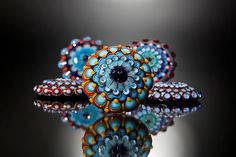 Dora Schubert, Glass Cabochon Toppers - interchangeable jewellery system #PurelyInspiration
