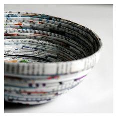 DIY: paper bowl