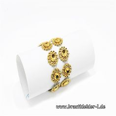 Sonnenblumen Servietten Ring 50 Stück in Gold oder Silber
