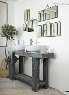 mes caprices belges: decoración , interiorismo y restauración de muebles: baños/bathrooms