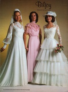 Bildergebnis für wedding dresses of the 70s