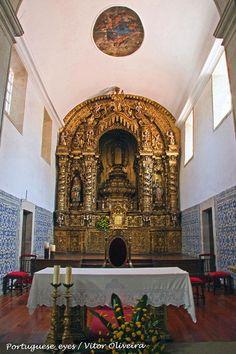 "Interior Igreja Matriz de Monçao - ""Angeli di un barocchismo iperbolico"""