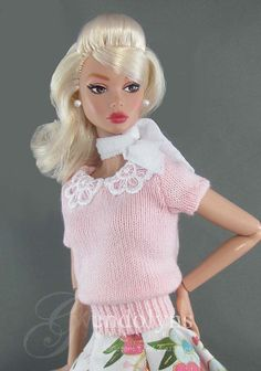 Your place to buy and sell all things handmade Barbie Song, Barbie Skipper, Vintage Barbie Clothes, Doll Clothes, Vintage Outfits, Plastic Girl, Poppy Parker, Swing Skirt, Rockabilly Fashion