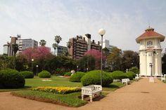 Praça do DMAE no Bairro Moinhos de Vento em Porto Alegre
