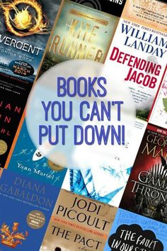 Books You Can't Put Down.  Looking for a good book that will keep you up reading? I'm sharing a list of my favorite Books You Won't Be Able to Put Down!