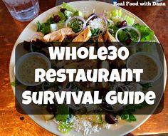 Whole30 Restaurant Survival Guide