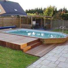piscina legno rettangolare - Cerca con Google
