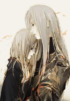 Art of Dark Souls | Lorian and Lothric | Dark Souls | Pinterest ...