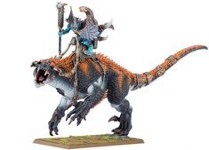 Lizardmen Carnosaur, Warhammer Fantasy