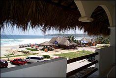 Bungalows Zicatela, Puerto Escondido, Oaxaca, México.