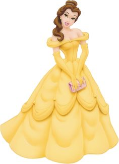 beauty and the beast characters pictures   Disney's Beauty Beast Princess Belle Clipart > Disney-Clipart.com