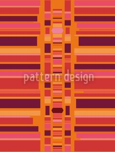 Bollywood by Katrin Kristjansdottir available for download on patterndesigns.com Indian Colours, Vector Pattern, Vector File, Surface Design, Bollywood, Stripes, Asian, Patterns, Block Prints