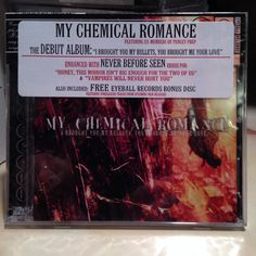 CD - I Brought You My Bullets, You Brought Me Your Love by My Chemical Romance