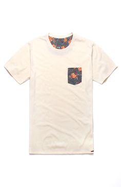 0b18744829f On The Byas Todd Pocket Print Crew Tee  pacsun Latest Fashion