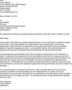 Beauty Cover Letter Sample  Sample Cover Letter For Job