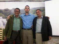 Pastores Adilson e Silvio Macedo, do CIEM da Ilha do Governador.
