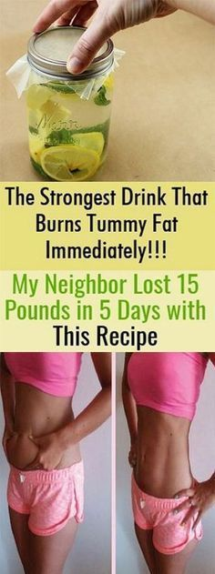 KrobKnea: The Strongest Drink That Burns Tummy Fat Immediately!!! My Neighbor Lost 15 Pounds in 5 Days with This Recipe