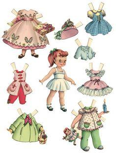 Paper Dolls, I didn't even know they were still around........