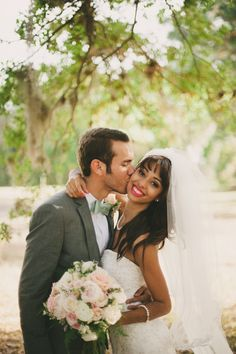 Such a gorgeous couple & wedding | photo by Beca Companioni Photography