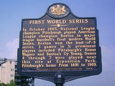 #TBT In honor of the World Series , here's a glimpse into Pennsylvania's baseball past via its historical markers. #ThrowBackThursday  https://www.facebook.com/PATrailsofHistory/posts/10152575779452669