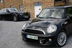 Mini Cooper S inspired by Goodwood/Rolls-Royce