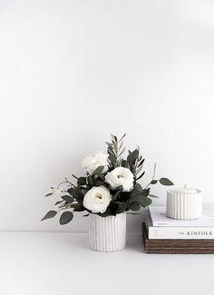 Textured Air Dry Clay Vase Tutorial