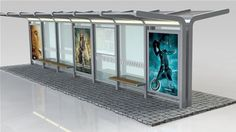 Find out all of the information about the Team Tejbrant product: metal bus shelter / glass / tempered glass UTOPIA. Bus Shelters, Shelter Design, Bus Station, Smart City, Urban Furniture, Bus Stop, Environmental Design, Urban Design, Canopy