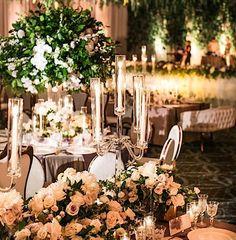 Featured Photographer: Samuel Lippke Studios; wedding centerpiece idea