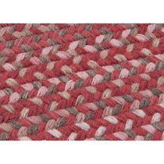 Colonial Mills Oak Harbour Rhubarb Red Area Rug Rug Size: 2' x 3'