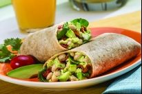 Avocado and White Bean Breakfast Wrap Recipe Breakfast Wraps, Breakfast Items, Corn Tortilla Recipes, Whole Wheat Tortillas, Vegetarian Dinners, Boiled Egg, Hard Boiled, Wrap Recipes, How To Cook Eggs