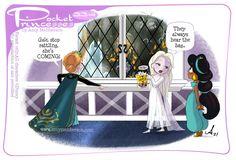 Pocket Princess Comics, Pocket Princesses, Disney Princesses, Nickelodeon Cartoons, Disney Cartoons, Frozen 2, Disney Frozen, Cute Disney, Disney Girls