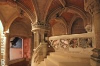 Anthology of French art :  Chateau of Blois:  Its architectural wealth is an echo of the diversity of all of the different châteaux built in the Loire Va...