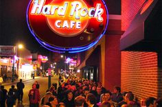 Sign in to your Hard Rock Rewards account to view exclusive offers and exciting program benefits at Hard Rock locations around the world. Hard Rock, Restaurants, Around The Worlds, Neon Signs, Diners, Hard Rock Music, Food Stations, Restaurant