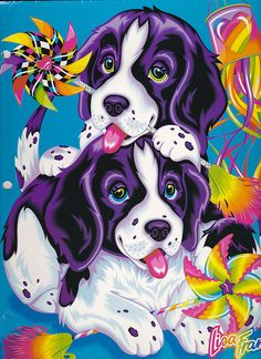Lisa Frank My Memory Book 3 Ring Binder Violet Velvet Puppies Dogs Lisa Frank Stickers, Back In The 90s, 90s Kids, Violet, Animal Drawings, Bunt, Dogs And Puppies, Artsy, Pin Up