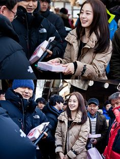 Kim Tae Hee surprises the staff of 'Jang Ok Jung, Living In Love' with chocolate
