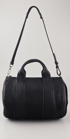 Alexander Wang, Rocco Duffel with Silver Hardware- my perfect everyday bag; (love the studs on the bottom)