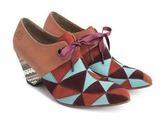Purpose Scheme, even better than the blue, want vs. need. Needs wins! Happy Fluevog Day to me!